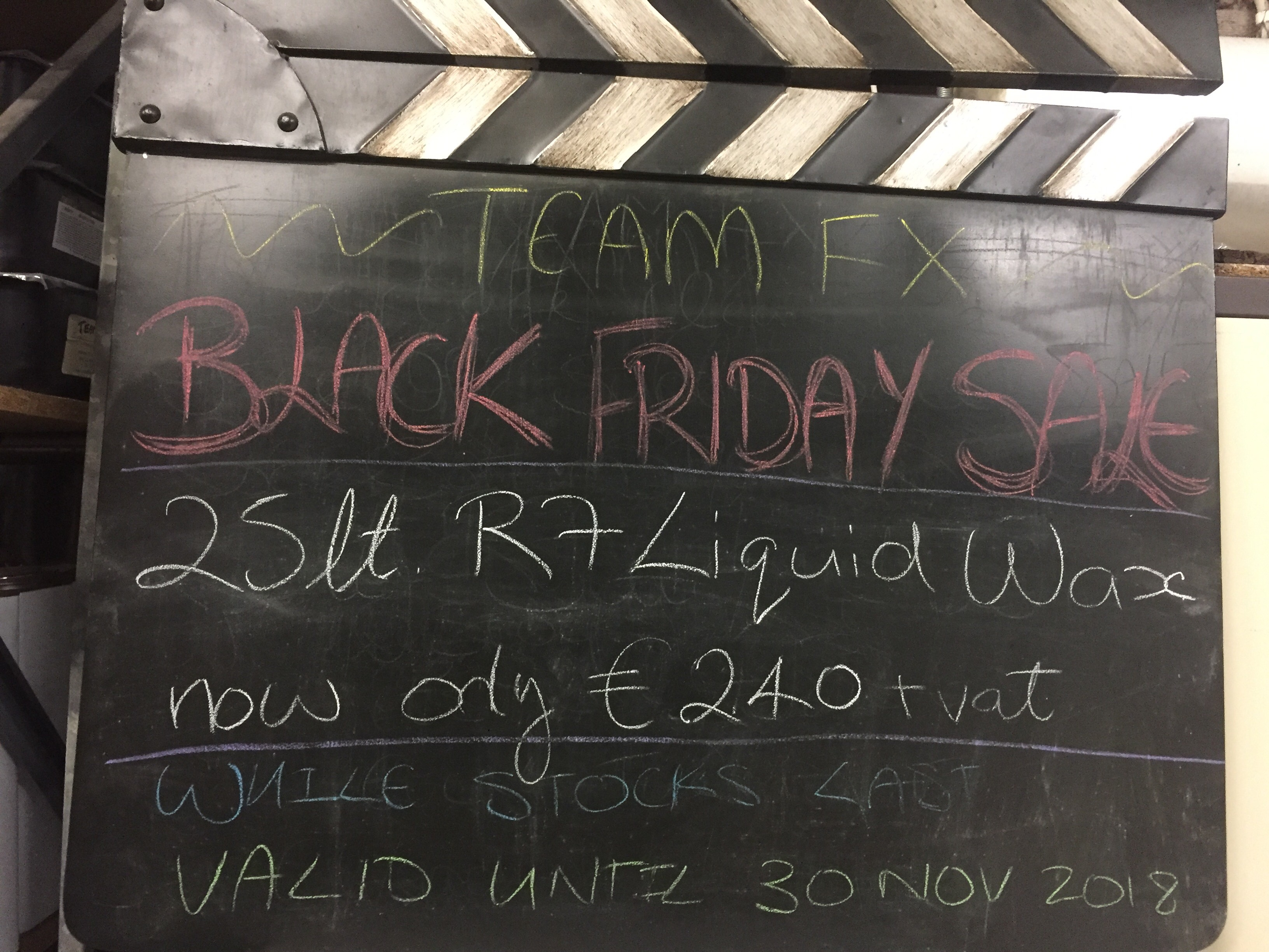Team FX Black Friday Sale Silicones, Clay, Fast Cast and